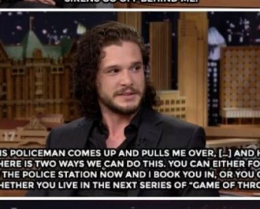 Jon Snow does knows how to deal with cops.