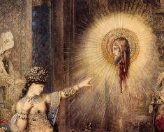 The Apparition, Gustave Moreau, Watercolor, 1876