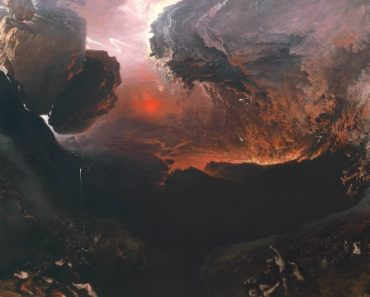 The Great Day of His Wrath, John Martin, Oil on Canvas, 1853