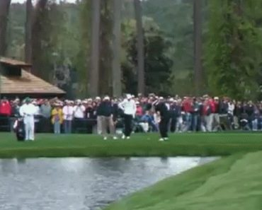 The Greatest Golf Shot Of All-Time [Skipping On Water]