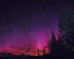 Northern Lights in Oregon