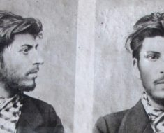 Police photo of a young Joseph Stalin 1902