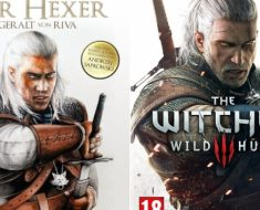 "The Witcher 3 cover art is an exact recreation of the 2001 movie ""The Hexer"" cover art"