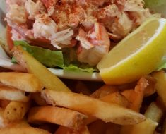 Lobster rolls in Nova Scotia, Canada