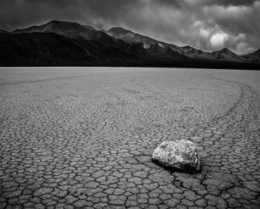 Sailing Stone on the Racetrack Playa, Dying Valley, CA