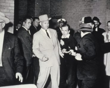 The second Jack Ruby shot Lee Harvey Oswald