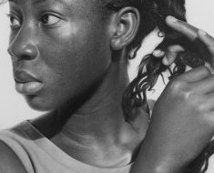 Till He Comes, Arinze Stanley, Graphite and charcoal pencils, 2017