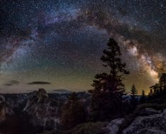 Yosemite Nationwide Park at 3am