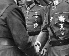 Only known recording of Hitler speaking without his loud and official voice