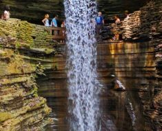 Watkins Glen State Park Waterfall